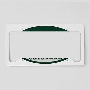 nO_VACANCY License Plate Holder