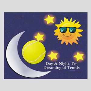 Dreaming of Tennis Small Poster