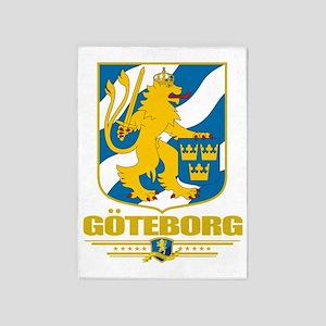 Goteborg (Flag 10) 5'x7'Area Rug