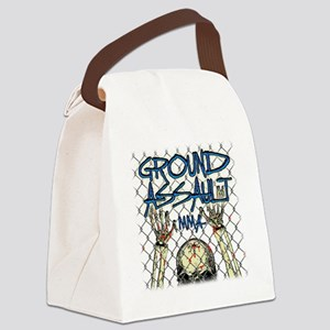 fence_1f_13t Canvas Lunch Bag