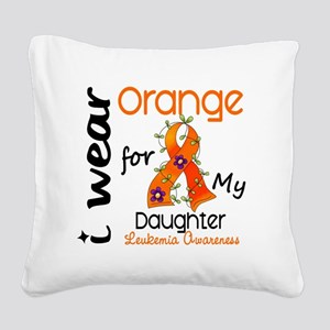 DONE2 Square Canvas Pillow