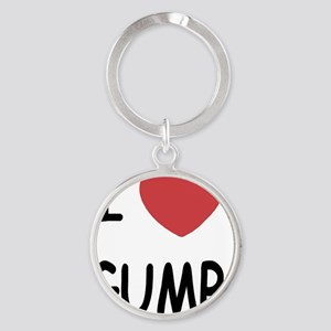 GUMP Round Keychain