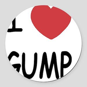 GUMP Round Car Magnet