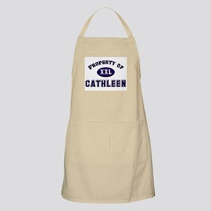Property of cathleen BBQ Apron