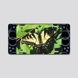 swallowtail-butterfly Aluminum License Plate