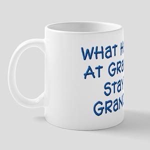 Stays At Grandpa's Mug