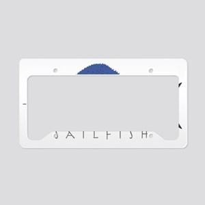 Sailfish_1 License Plate Holder
