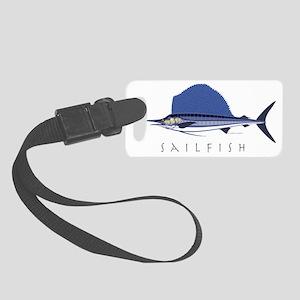 Sailfish_1 Small Luggage Tag
