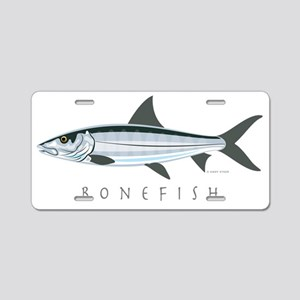 Bonefish_1 Aluminum License Plate