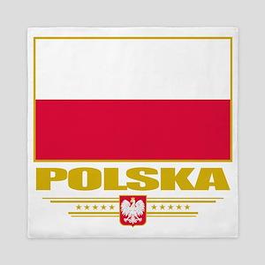 Poland (Flag 10) Queen Duvet