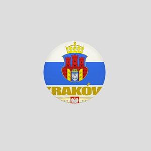 Krakow (Flag 10)2 Mini Button