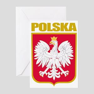 Poland COA Greeting Card