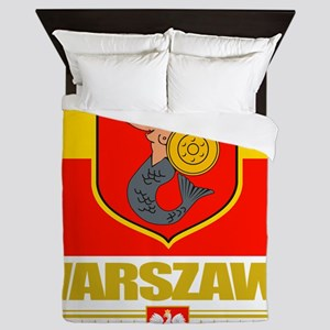 Warsaw (Flag 10) Queen Duvet