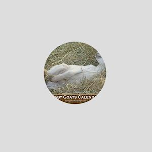 2012 I Love Baby Goats Calendar Mini Button