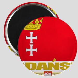 Gdansk Flag (Flag 10) Magnet