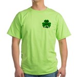 Cute and Lucky Shamrock Green T-Shirt