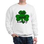 Cute and Lucky Shamrock Sweatshirt