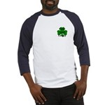 Cute and Lucky Shamrock Baseball Jersey