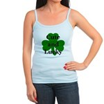 Cute and Lucky Shamrock Jr. Spaghetti Tank