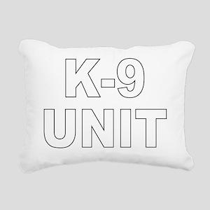 k9unit Rectangular Canvas Pillow