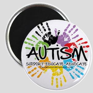 Autism-Handprint2011 Magnet