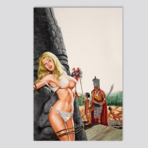 Mans Action 6-69 Duillo o Postcards (Package of 8)