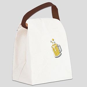oct248dark Canvas Lunch Bag
