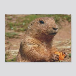 prairie dog larg 5'x7'Area Rug
