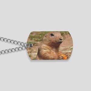 prairie dog larg Dog Tags