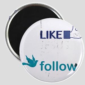 I Like Jesus So I Follow Him Magnet