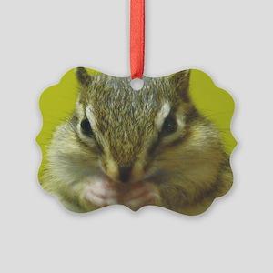chipmunk larg Picture Ornament
