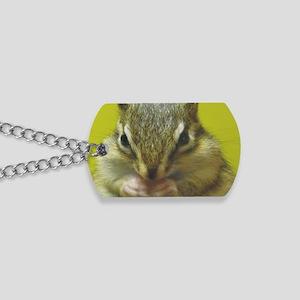 chipmunk larg Dog Tags