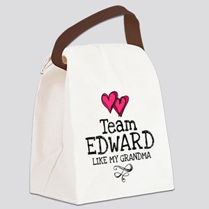 Lovez Ed Gma Canvas Lunch Bag