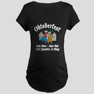 oct239dark Maternity Dark T-Shirt