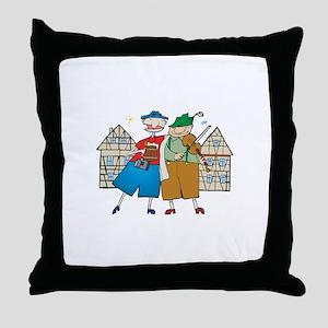 oct239dark Throw Pillow