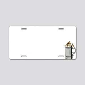 oct229dark Aluminum License Plate