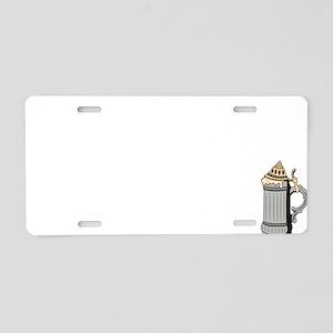 oct228dark Aluminum License Plate