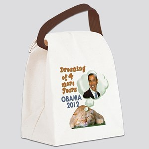 obama-cat Canvas Lunch Bag