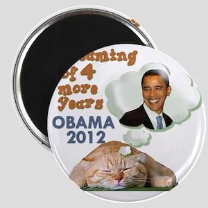 obama-cat Magnet