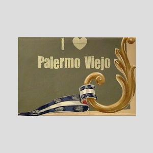 I love PV Rectangle Magnet