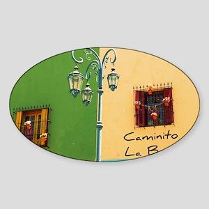 Caminito Sticker (Oval)