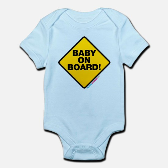 Baby On Board Infant Bodysuit