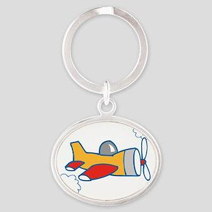 bigairplane Oval Keychain