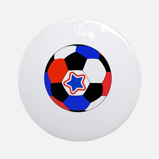 Thank You Soccer Coach Unique Gifts Round Ornament