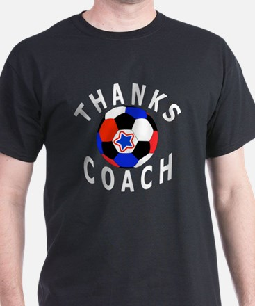 Thank You Soccer Coach Unique Gifts,  T-Shirt