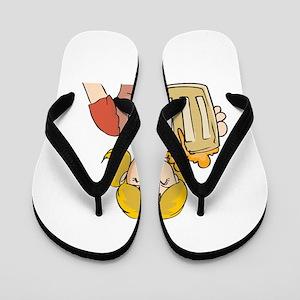 oct216dark Flip Flops