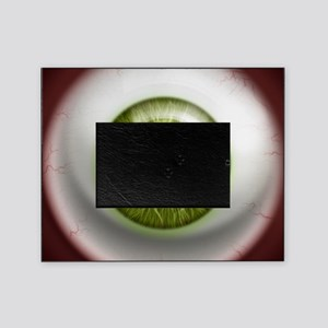 16x16_theeye_green Picture Frame