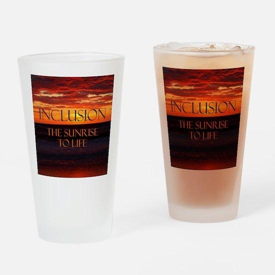 sunrise-a Drinking Glass
