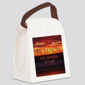 sunrise-a Canvas Lunch Bag
