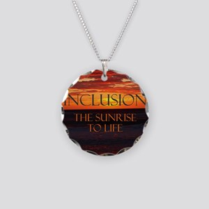 sunrise-a Necklace Circle Charm